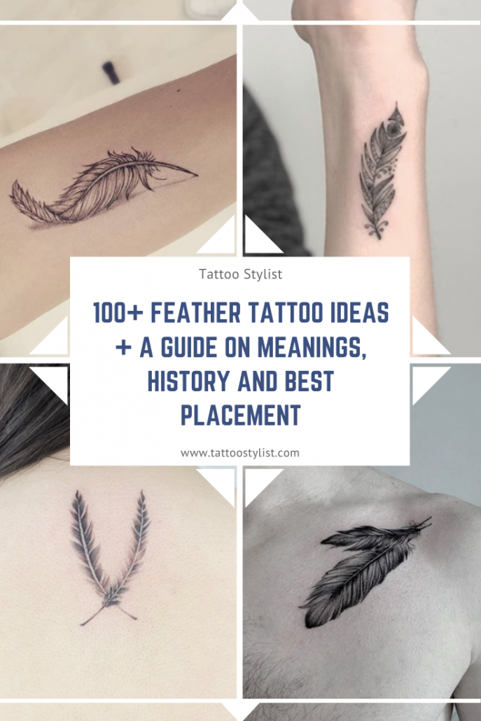 Feather Tattoo Ideas and a Guide on Meaning, History and Best Placement