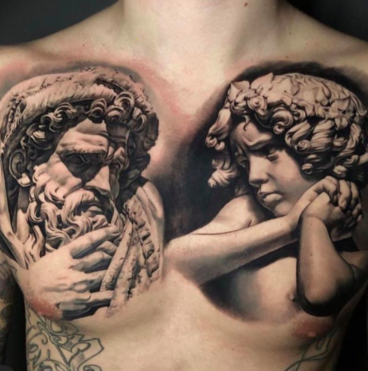socrates tattoo for men