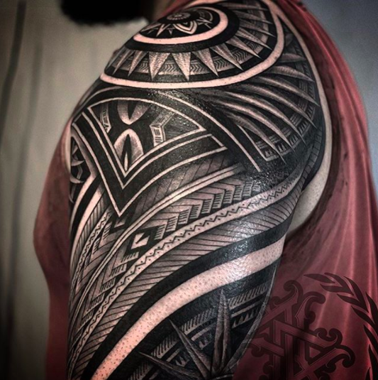 tattoo design for men polynesian