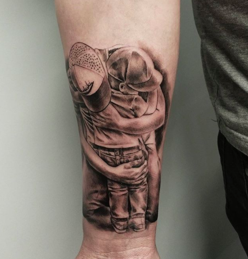 father son tattoo for men
