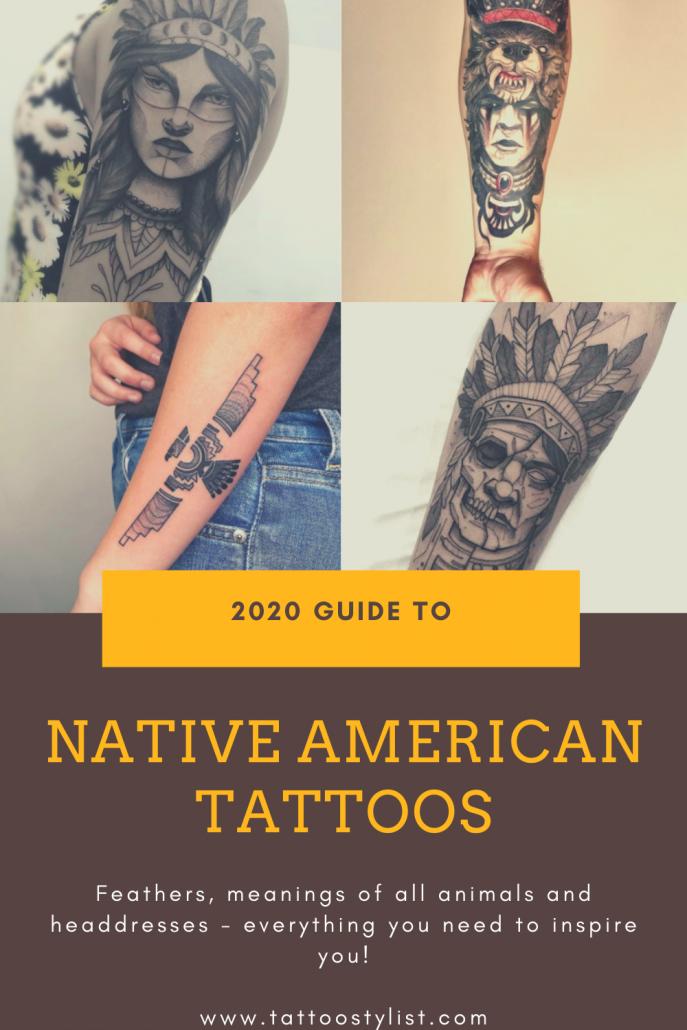 Native American Tattoos Pinterest Pin