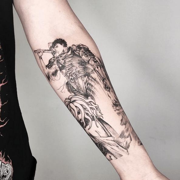 Berserk tattoo by @albanskajahonda